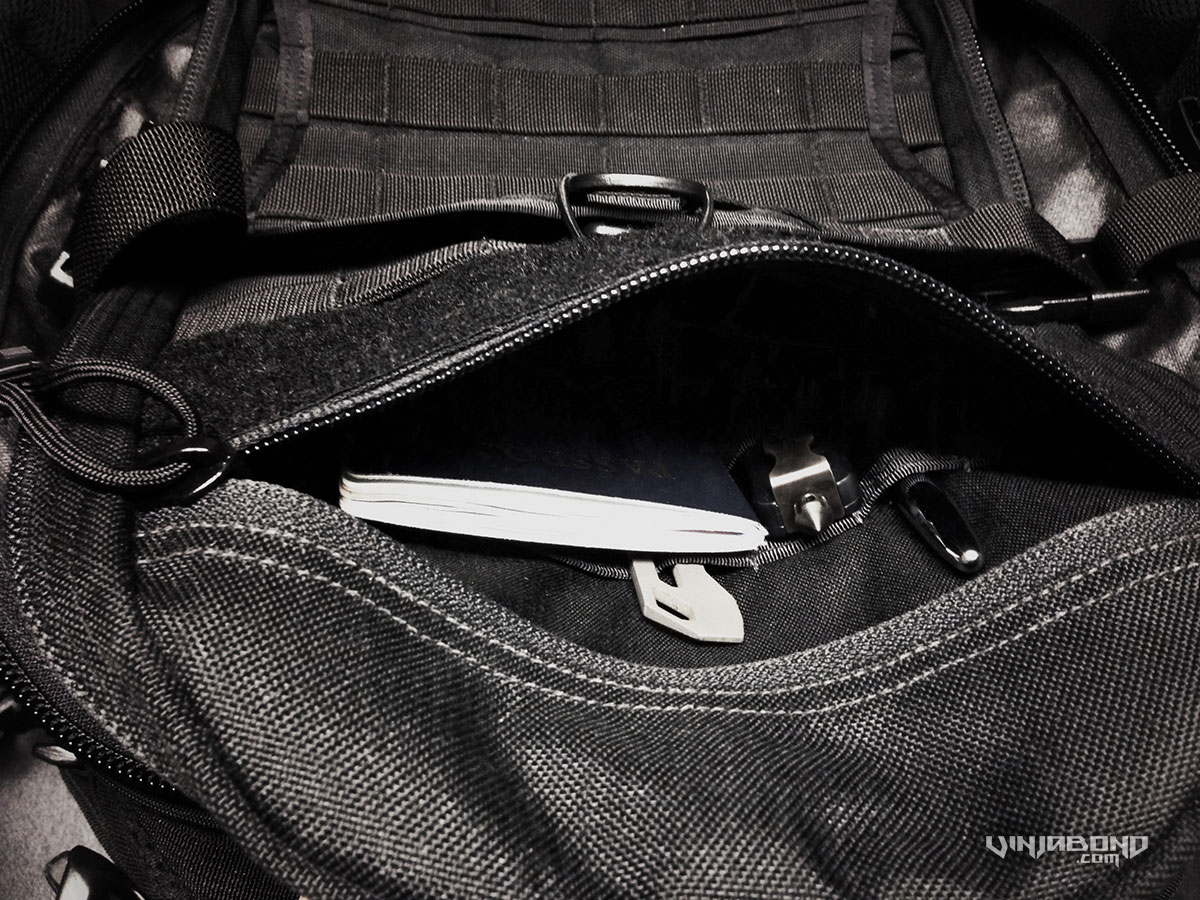 - Front Top Compartment of The FAST Pack -