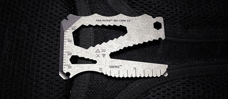 Cha/O/Ha EDC Multi-Tool Card - Vinjatek