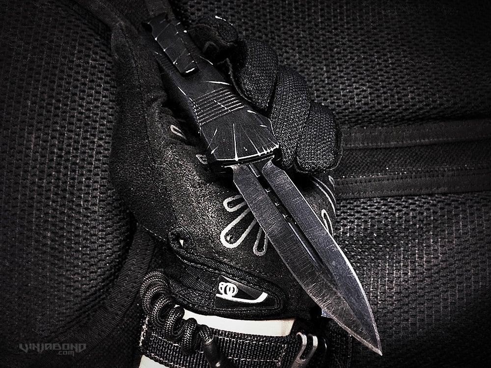 Battle Scarred Microtech Troodon Knife /// VINJABOND