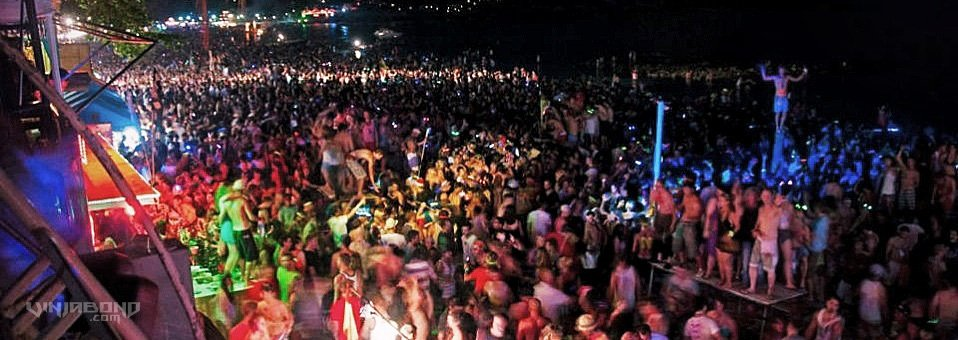 - The Full Moon Party -