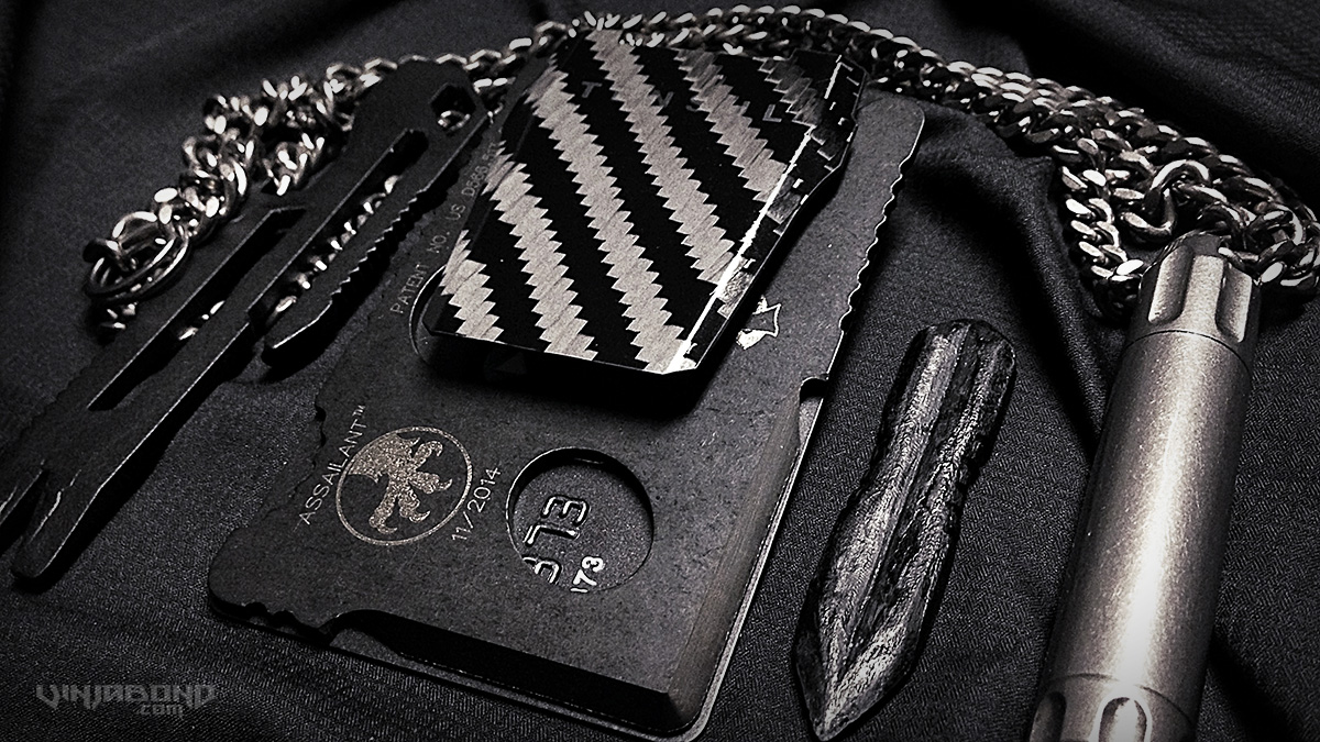 - Stealth EDC Kit // Titanium / Carbon Fiber -