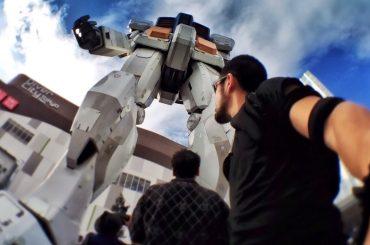 Life-Size Gundam Robot in Tokyo /// Vinjatek