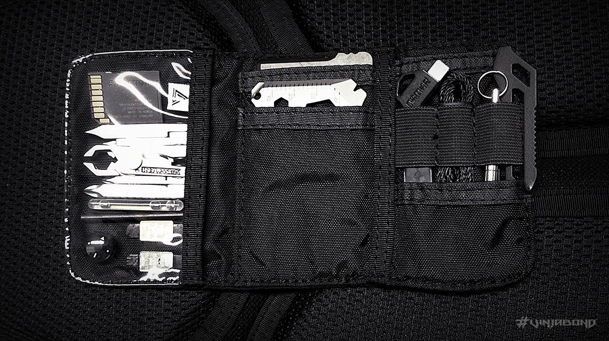 - The CORE Nano Adventure Wallet w/ EDC Kit -