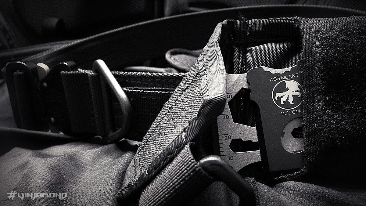 - Multi-Tool Card EDC Kit on a Belt -