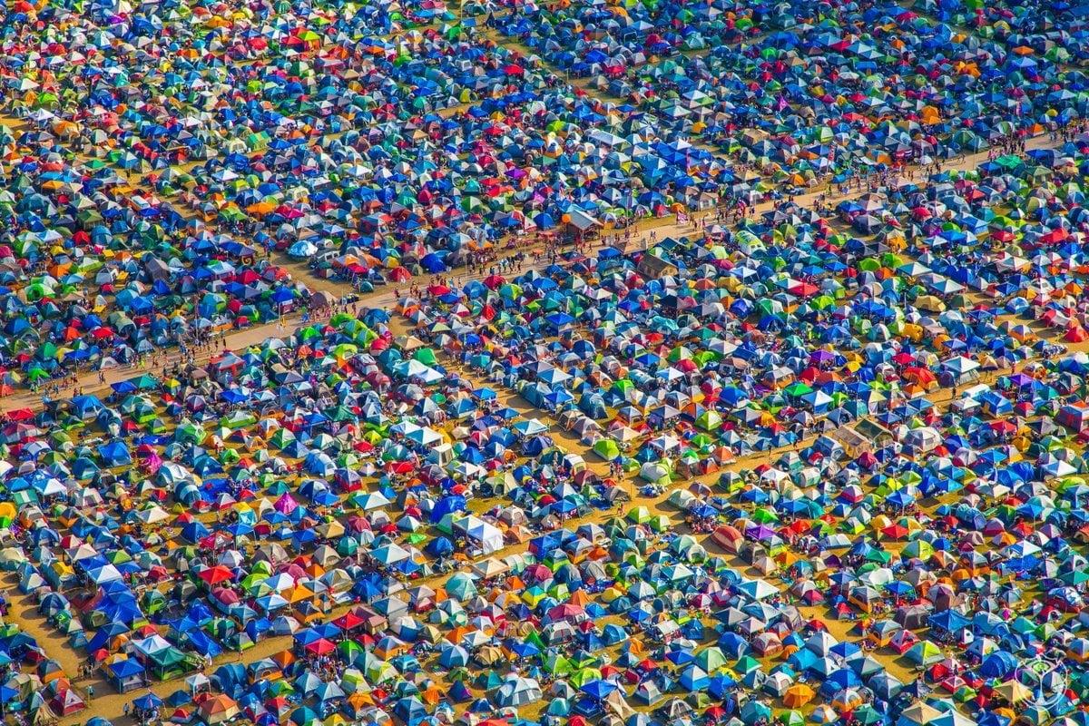 - The Tomorrowland Festival Tent Campsite -
