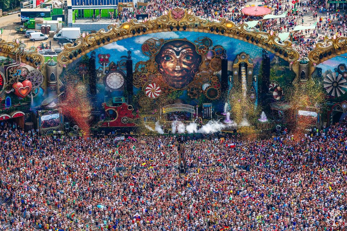 - The Tomorrowland Festival -