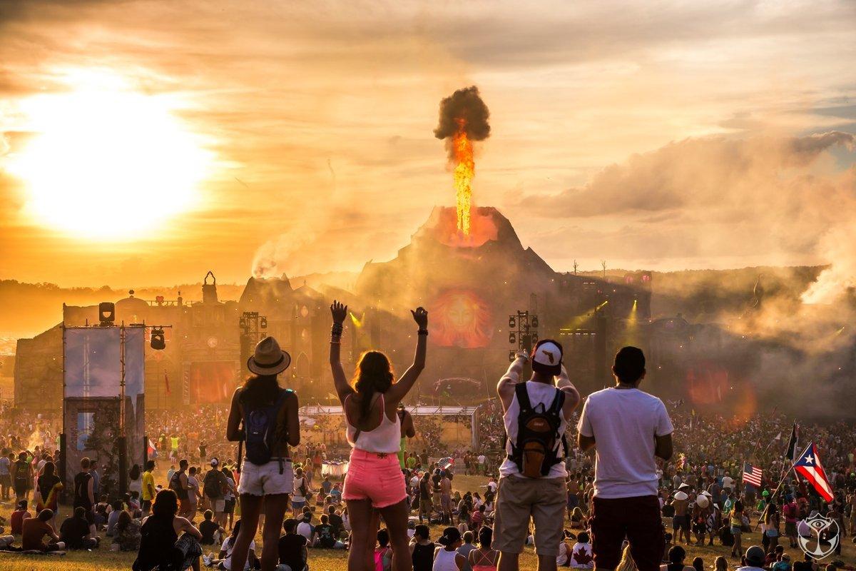 - The Tomorrowland Festival in Atlanta --