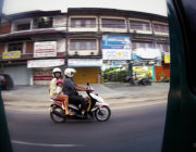 - People Watching While Riding in a Tuk-Tuk in Bali -