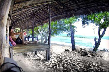 Chillin' with a watermelon juice on Gili Meno Island /// Vinjatek