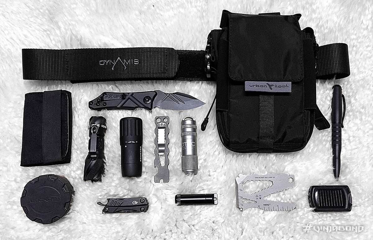 - Everyday Carry / Survival Setup For The travelKit -