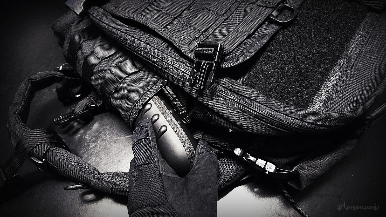 - Side Pockets of the EDC Backpack -