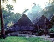 Village in Kiritimati Island, Kiribati //