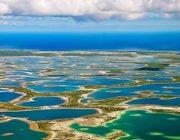 Flying Over Kiritimati Island, Kiribati //