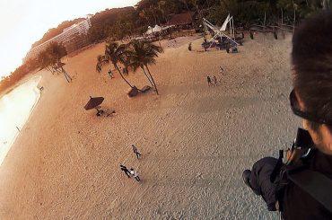 Skydiving at Sentosa Island, Singapore /// Vinjatek