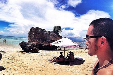 Padang Padang Beach in Bali, Indonesia /// Vinjatek