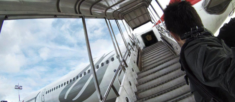 Long-Haul Flight Survival Guide: Boarding an Airplane at Tribhuvan International Airport in Nepal /// Vinjatek