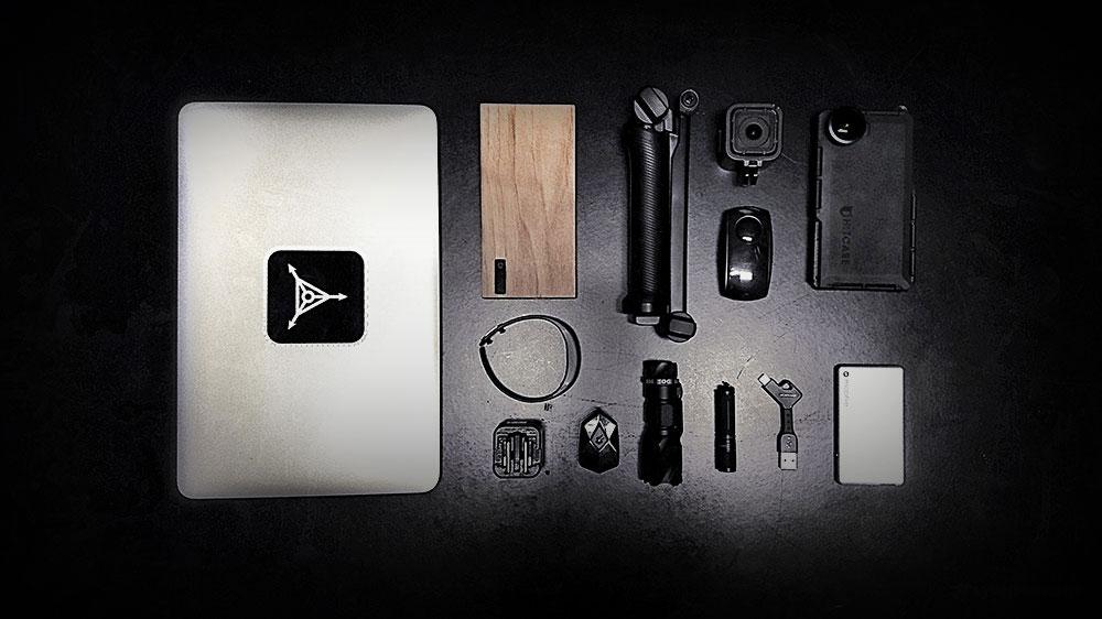 Vagabonding Packing List /// The Tech