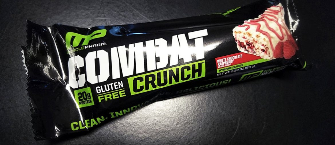 Combat Crunch Protein Bars : Review /// Vinjatek