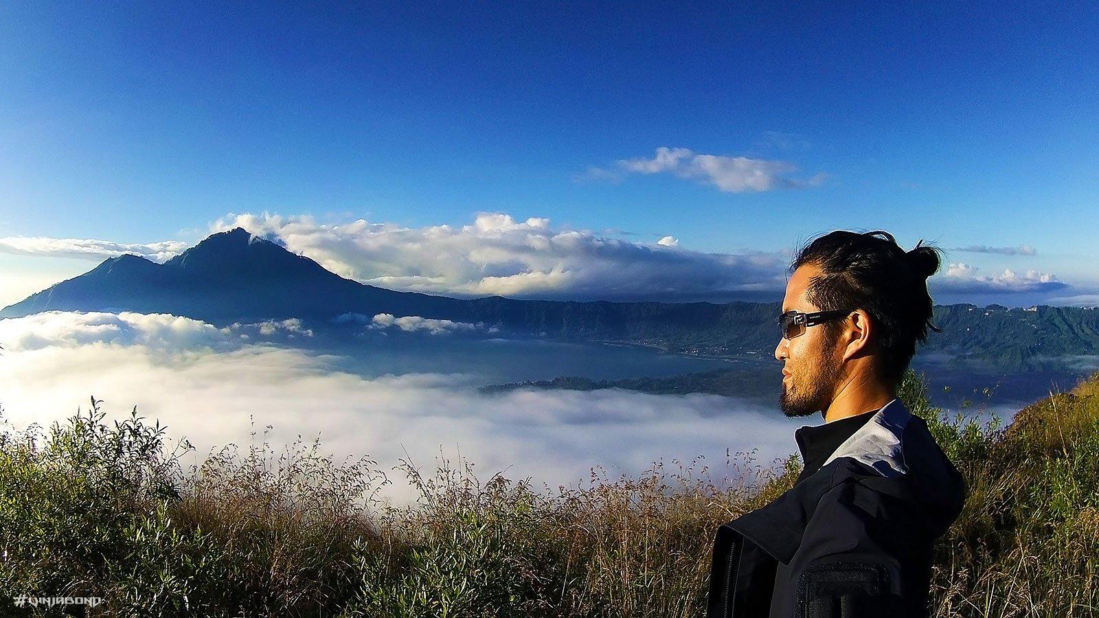 Lake Batur Selfie /// Vinjabond