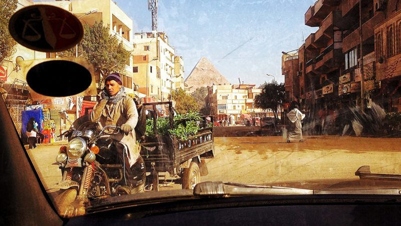 Active Situational Awareness in Giza, Egypt /// Vinjatek