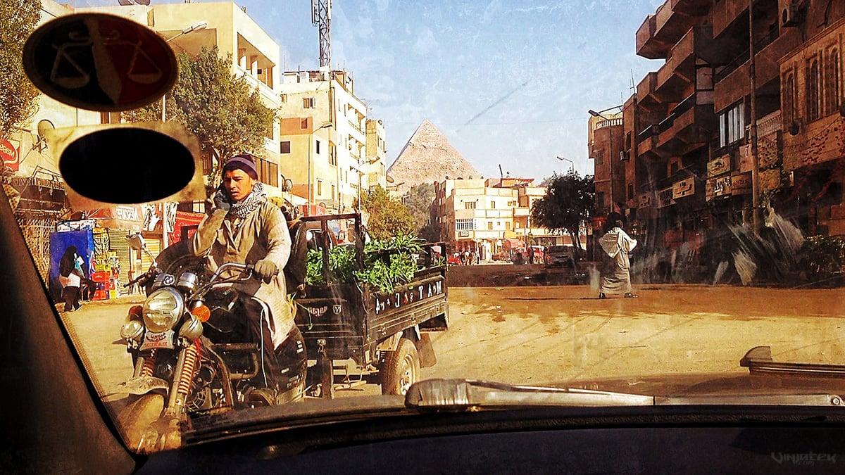 Active Situational Awareness in Giza, Egypt /// Vinjatek