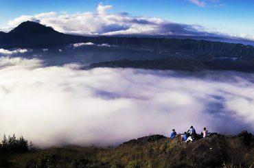 Mount Batur Volcano Cliff in Bali, Indonesia /// Vinjatek