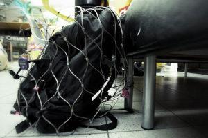 Baggage Security at Airport /// VINJABOND