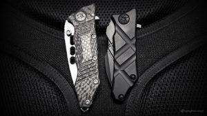 - Guardian Tactical Knives: Exilis vs. Helix Nano // Side VIew -