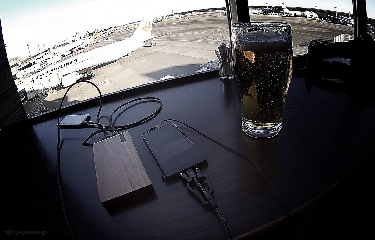 Nomad Ultra Rugged Cables at Narita Airport /// VINJABOND