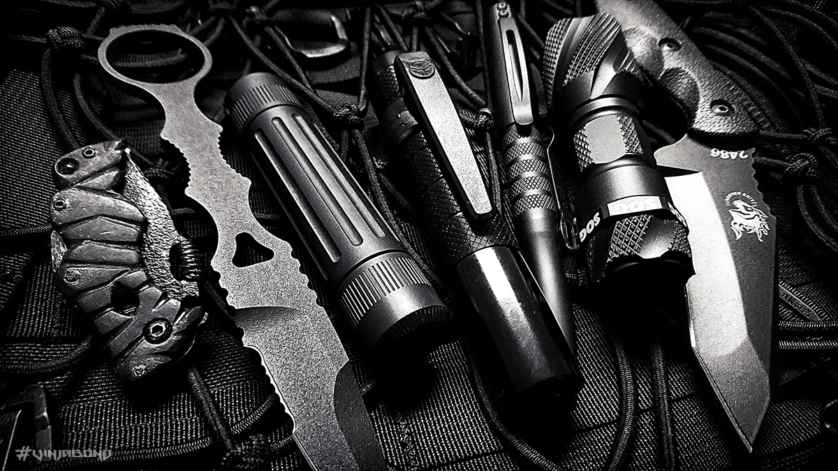 Close Quarters Battle Stealth EDC Kit /// VINJABOND