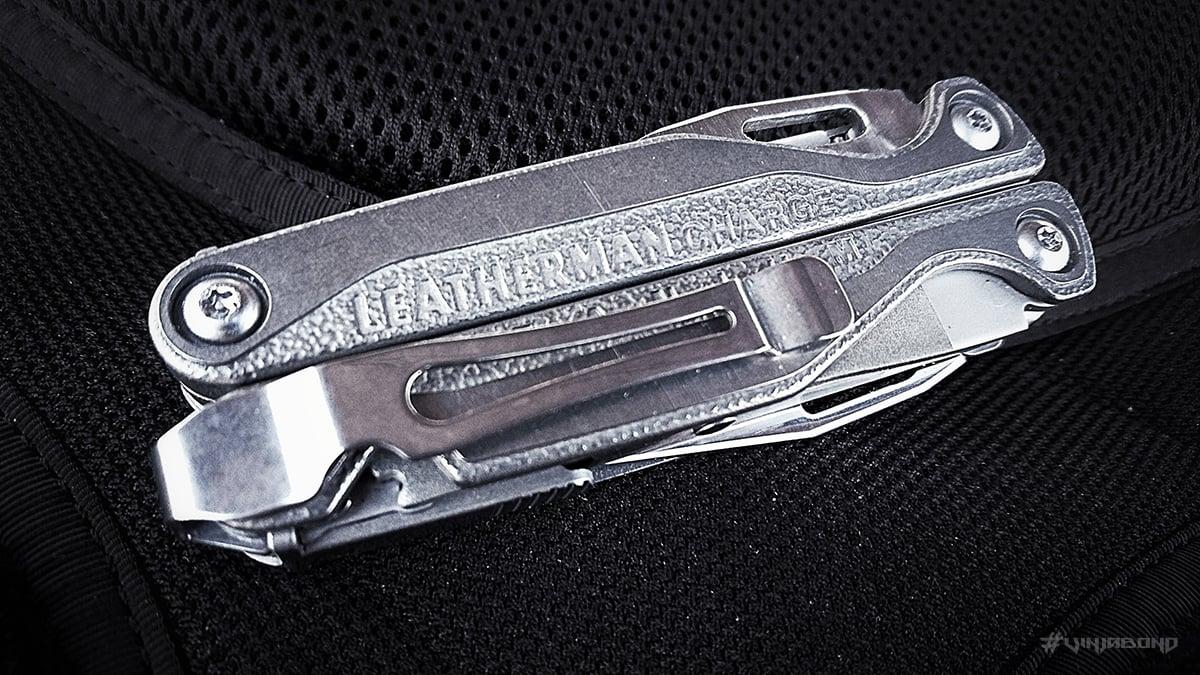 Leatherman Charge TTi Multi-Tool Pocket Clip /// VINJABOND
