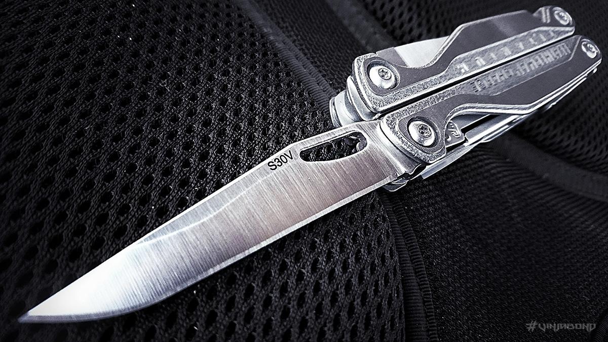Leatherman Charge TTi S30V Blade Knife /// VINJABOND