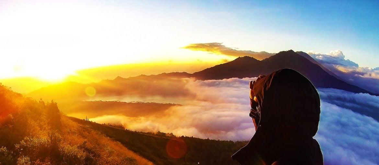 Mount Batur During Sunrise /// Vinjatek