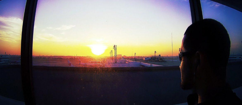 Don Mueang Airport Observation Deck Sunrise /// Thailand // Vinjatek
