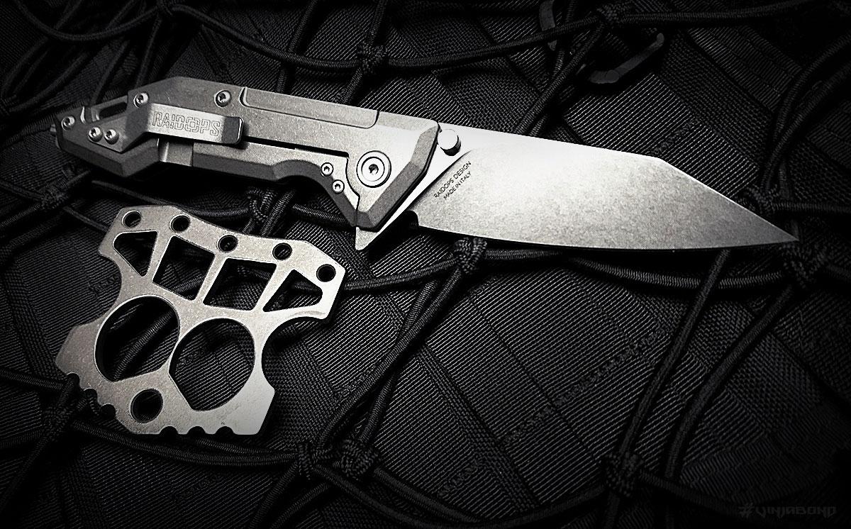 Raidops Centauro Knife w/ Angry Caesar /// VINJABOND