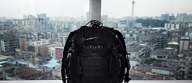 Vinjatek Go-Bag in Guangzhou, China ///