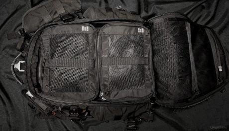 FAST Pack EDC Backpack Mod - The Top /// Vinjatek