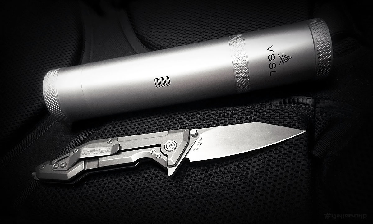 VSSL Supplies Survival Kit with Raidops Centauro Knife