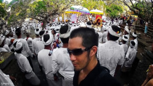 Uluwatu Temple Kecak Dance Ceremony in Bali, Indonesia /// Vinjatek