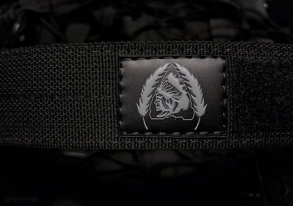Black Scout Concealment Belt Logo ///