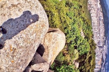On The Peak of Busan Mountain, Korea /// Vinjatek