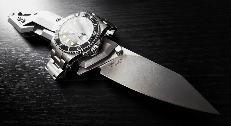 Rolex Submariner Watch and Raidops Centauro Knife /// Vinjatek