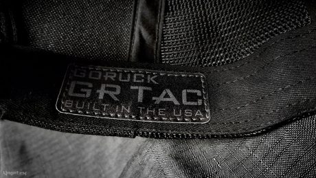 Goruck TAC Hat Tag Label /// Vinjatek