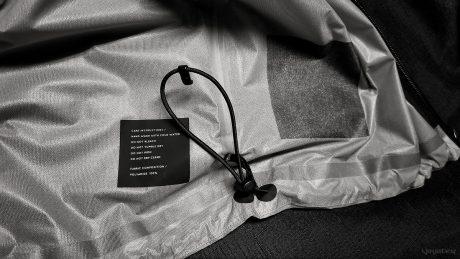 Vollebak Solar Charged Jacket Drawcord /// Vinjatek