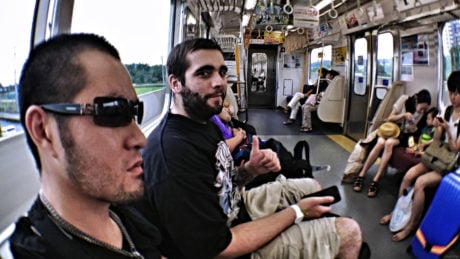 Our Train Out of Narita Airport to Tokyo, Japan /// Vinjatek