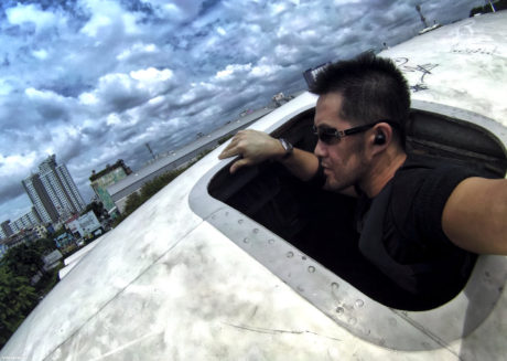 The Airplane Graveyard in Bangkok, Thailand /// Vinjatek