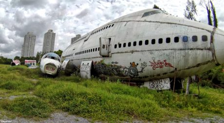 The Airplane Graveyard of Bangkok, Thailand /// Vinjatek