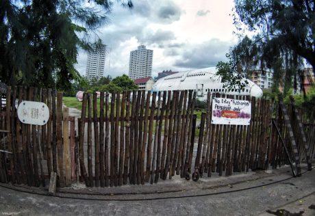 Airplane Graveyard Entrance at Bangkok, Thailand /// Vinjatek
