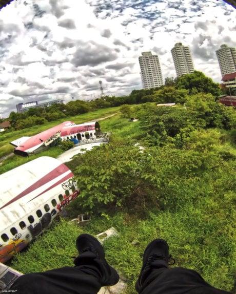 Guide to Bangkok Airplane Graveyard in Thailand /// Vinjatek