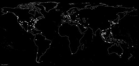 Vagabonding Map /// Vinjatek